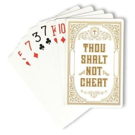 Playing Cards - Thou Shalt Not Cheat