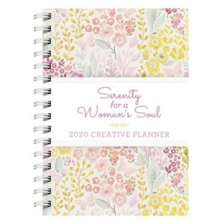 2020 Creative Planner: Serenity for a Woman's Soul