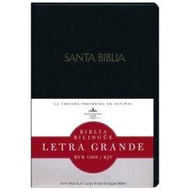 RVR/KJV Biblia Bilingue (Large Print Bilingual Bible), Black