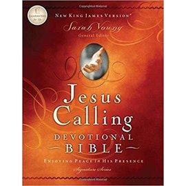 NKJV Jesus Calling Devotional Bible, Hardcover