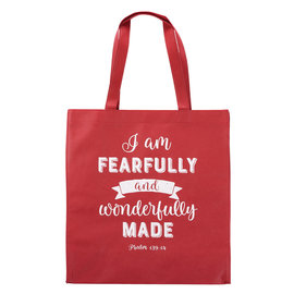 Tote Bag - Fearfully and Wonderfully Made