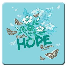 Magnet - Faith, Hope & Love