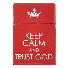 Box of Blessings - Keep Calm & Trust God