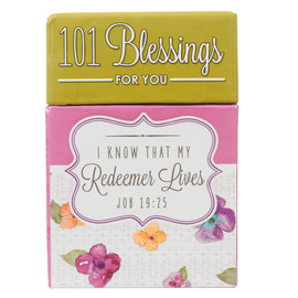 Box of Blessings - 101 Blessings for you: I Know that My Redeemer Lives
