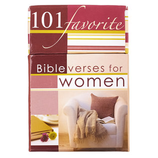 Box of Blessings - 101 Favorite Bible Verses for Women