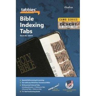 Bible Indexing Tabs - Desert