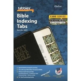 Bible Indexing Tabs - Forest