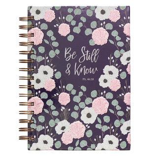Journal - Be Still & Know, Wirebound