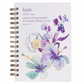 Journal - Faith, Wirebound