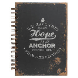 Journal - Hope as an Anchor, Large Wirebound