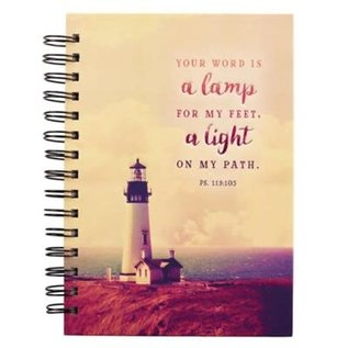 Journal - Your Word is a Lamp, Wirebound
