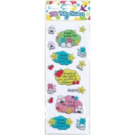 3D Puffy Stickers