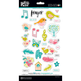 3D Puffy Stickers - Seeds of Faith