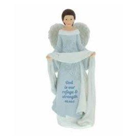 Angel - God is our Refuge, Blue