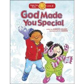 Happy Day Books, Level 2: God Made You Special (Jennifer Holder), Paperback