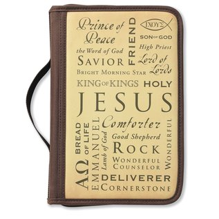 Bible Cover - Names of Jesus