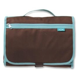 Bible Cover - Trifold Organizer, Brown Large