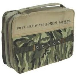 Bible Cover - Fight Well in the Lord's Battles