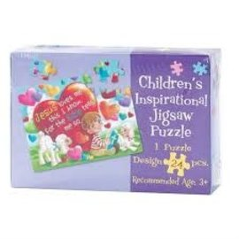 Children's Jigsaw Puzzle - Jesus Loves Me