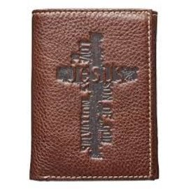 Men's Wallet - Cross, Tri-fold