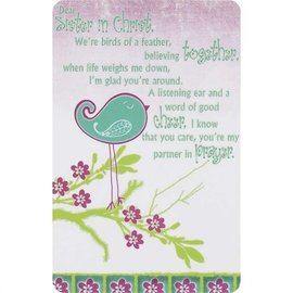 Pocket Card - Sisters In Christ