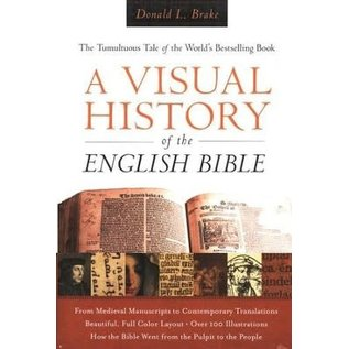 A Visual History Of The English Bible, Hardcover
