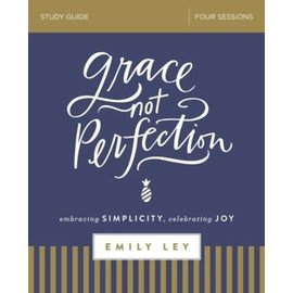 Grace Not Perfection, Study Guide (Emily Ley), Paperback