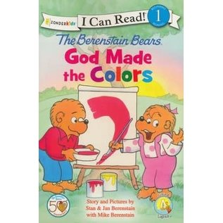 I Can Read Level 1: The Berenstain Bears - God made the Colors
