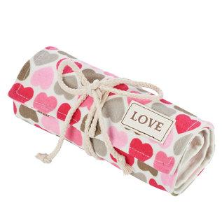 Colored Pencil Wrap - Love, Hearts