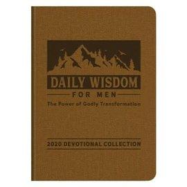 2020 Devotional - Daily Wisdom for Men, Imitation Leather