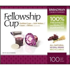 Fellowship Cups, Prefilled 100