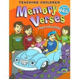 Teaching Children Memory Verses, Ages 4-5 (Reproducible)