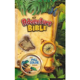 NIV Adventure Bible, Map Hardcover 3D