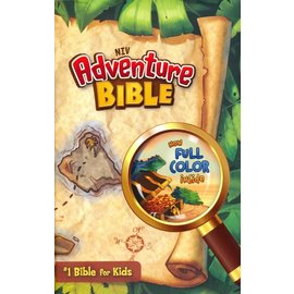 NIV Adventure Bible, Map Hardcover, Indexed