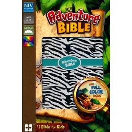 NIV Adventure Bible, Zebra Print Leathersoft