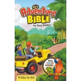 NIrV Adventure Bible for Early Readers, Jungle Hardcover
