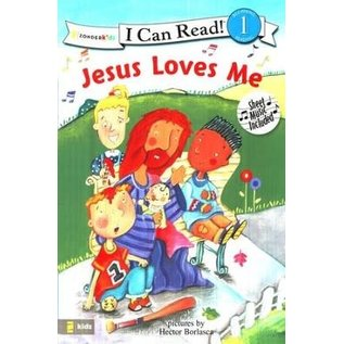 I Can Read Level 1: Jesus Loves Me