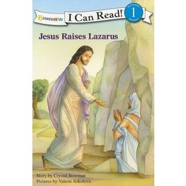 I Can Read Level 1: Jesus Raises Lazarus (Crystal Bowman)