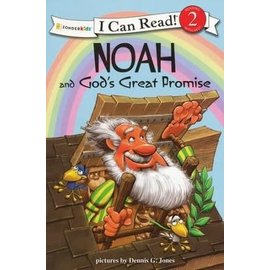 I Can Read Level 2: Noah and God's Great Promise
