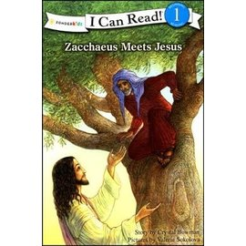 I Can Read Level 1: Zaccheus Meets Jesus (Crystal Bowman)