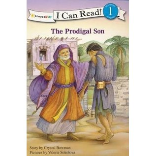I Can Read Level 1: The Prodigal Son (Crystal Bowman)