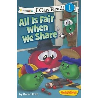 I Can Read Level 1: VeggieTales - All Is Fair When We Share