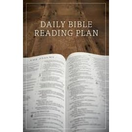 Good News Bulk Tracts: Daily Bible Reading Plan