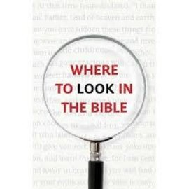 Good News Bulk Tracts: Where to Look in the Bible