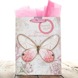 Gift Bag - Cherished and Loved, Medium