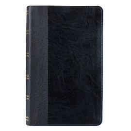 KJV Giant Print Reference Bible, Black Indexed