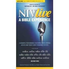NIV Live: A Bible Experience - CDs with DVD