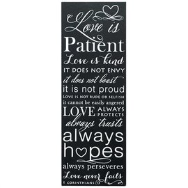 Wall Art - Love is Patient