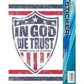 Window Sticker - In God We Trust