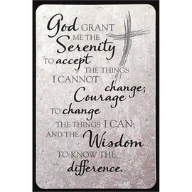 Pocket Card - Serenity Prayer, Gray